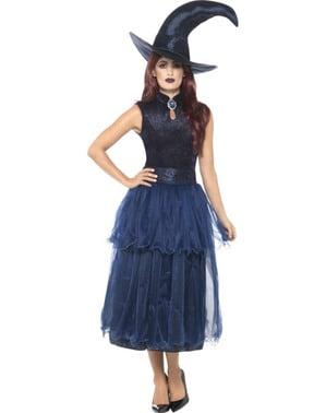Midnats hekse kostume til kvinder