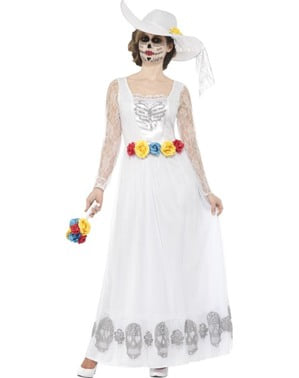 Day of the Dead Bride Costume for Women