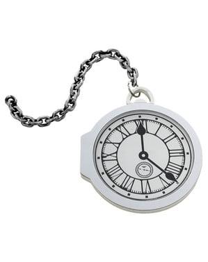 Zegarek kieszonkowy biały PVAL