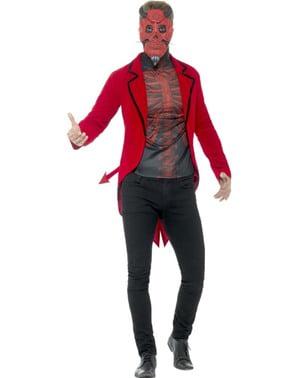 Costum de demon cu clasă pentru bărbat
