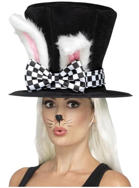 Pălărie cu iepure pentru adult