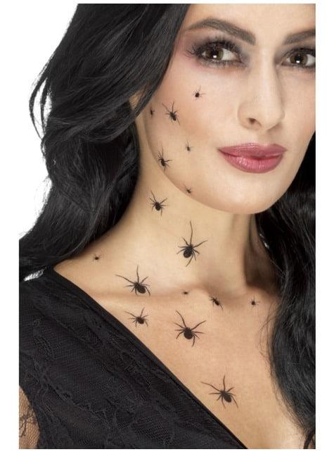 Tatuagens de aranhas pretas