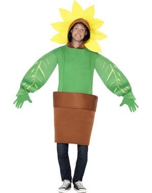 Costum floare în ghiveci pentru adult