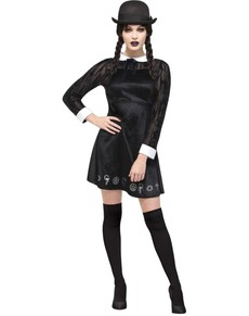 Womenu0027s gothic fever girl costume  sc 1 st  Funidelia & Addams Family Costumes . Express delivery | Funidelia