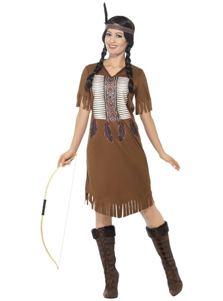 Disfraz De India Nativa Americana Para Mujer Entrega 24h Funidelia - Disfraz-india-americana