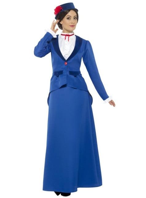 Супер бавачка викторианска носия за жени