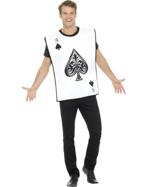 Adults' Ace of Spades costume