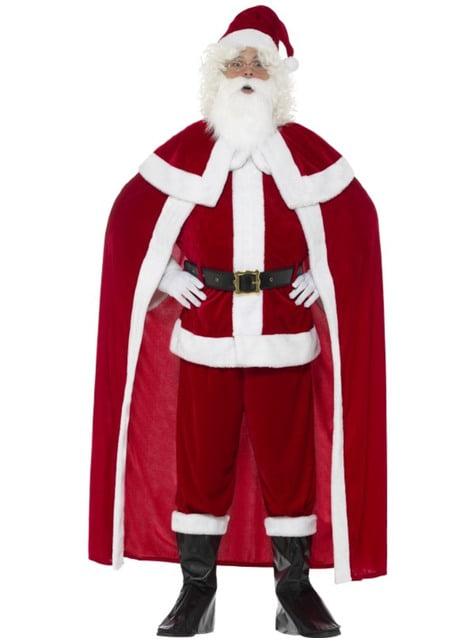 Kerstmanpak met cape