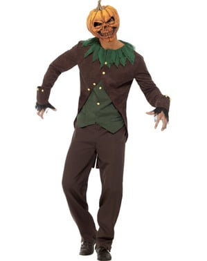 Maskeraddräkt Jack-O Goosebumps vuxen