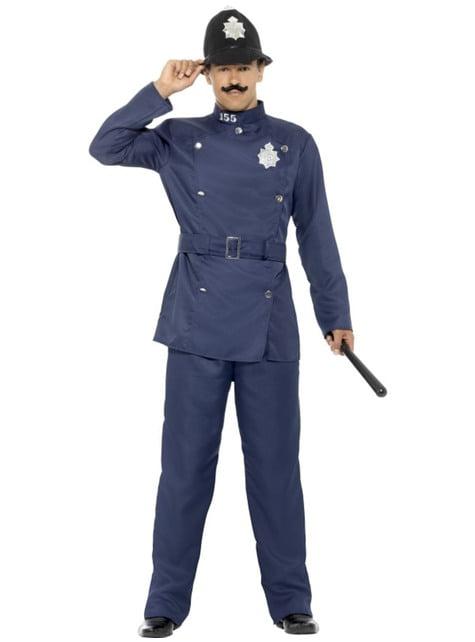 Disfraz de policía londinense para hombre