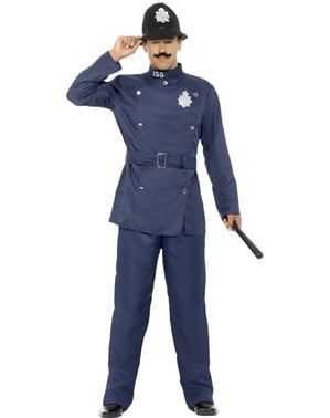 Men's London police costume