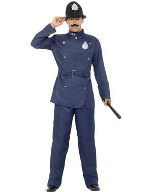 ロンドンの男性警察衣装