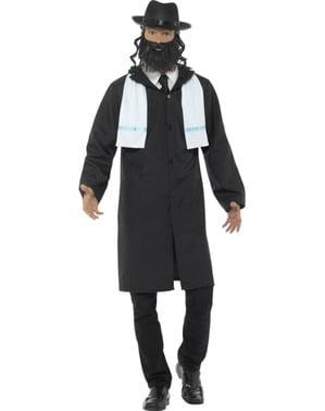 Disfraz de rabino para hombre