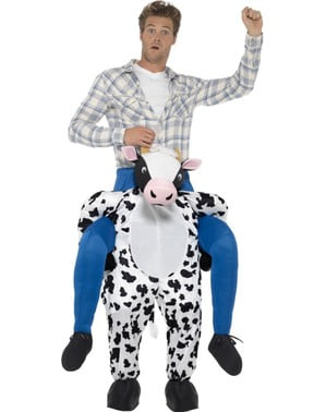 Piggyback Cow Costume for Adults