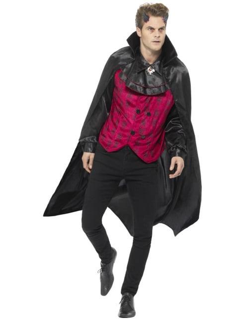 Disfraz de vampiro elegante gótico para hombre