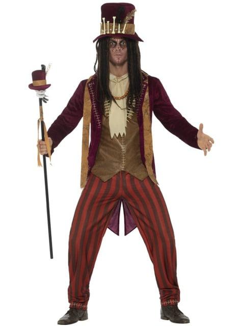 Deluxe Voodoo Witch Doctor kostuum voor mannen