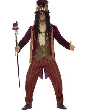 Costum de vrăjitor voodoo deluxe pentru bărbat