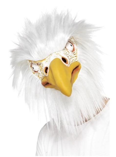 Máscara de águila para adulto