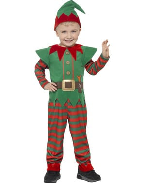 Costum de elf de Crăciun pentru copii