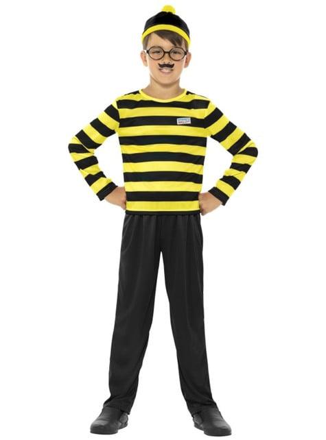 Disfraz de Odlaw Dónde está Wally para niño