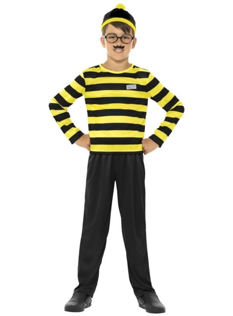 Odlaw from Where's Wally costume for Kids
