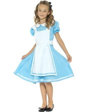 Wunderbare Alice Kostüm für Mädchen