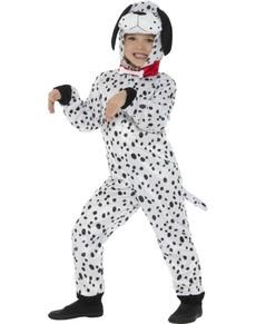 Disfraz de dálmata juguetón infantil