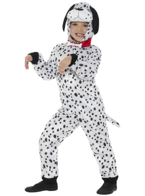 Kids playful Dalmatian costume