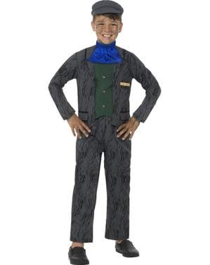 Bergarbeiter Horrible Histories Kostüm für Jungen