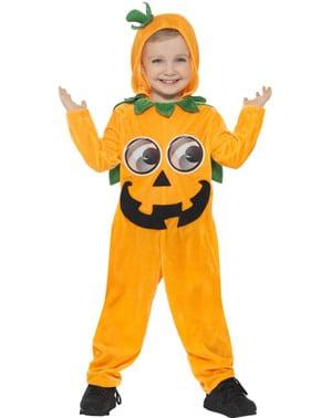 Веселият тиквен костюм за бебета