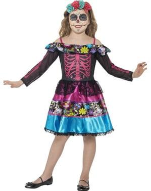 Costume di catrina elegante per bambina