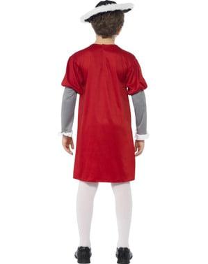 Costume Vittoriano Enrico VIII per bambino- Horrible Histories