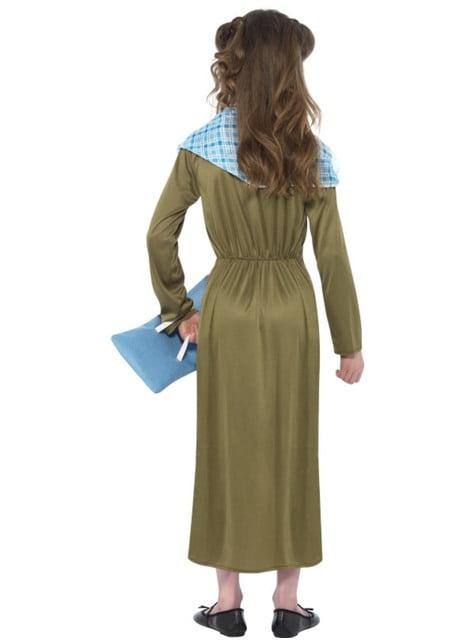 Disfraz de Boudica Horrible Histories para niña - niña