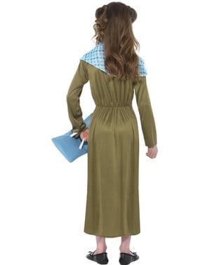 Boudica Warrior Kostyme til Jenter - Horrible Histories