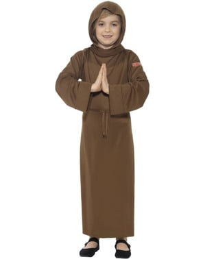 Monk Costume for Boys - Horrible Histories