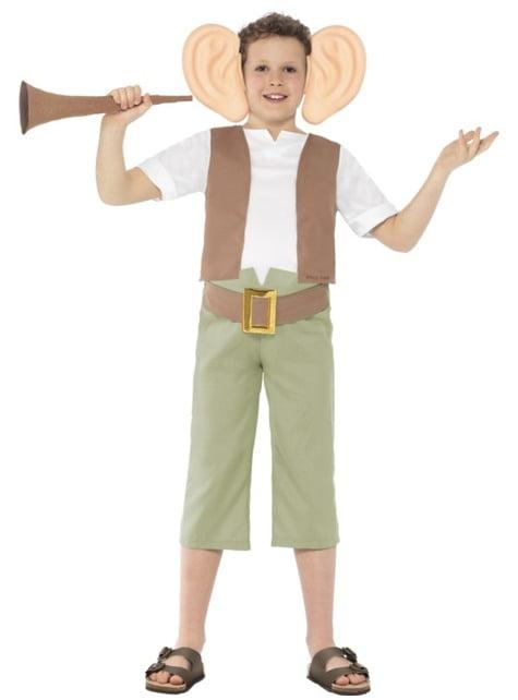 Fato de O Amigo Gigante Roald Dahl para menino