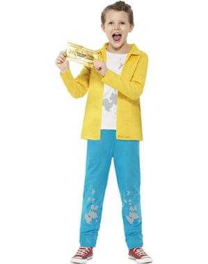 Fato de Charlie Bucket Roald Dahl para menino