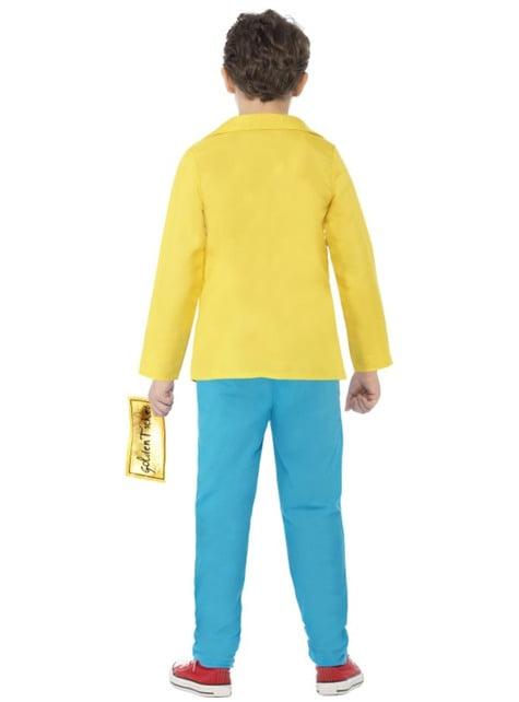 Disfraz de Charlie Bucket Roald Dahl para niño - infantil