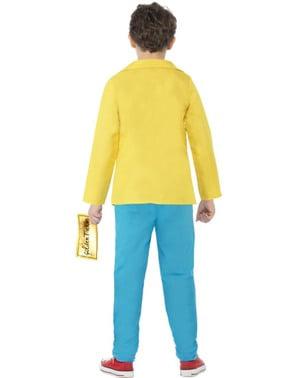 Chlapecké Roald Dahl Karlík Bucket kostým