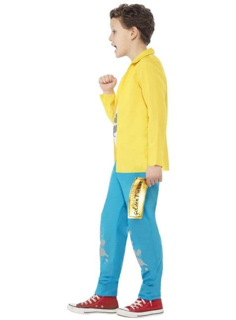Disfraz de Charlie Bucket Roald Dahl para niño - original