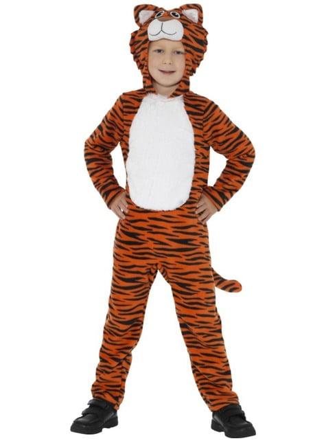 Disfraz de tigre juguetón infantil