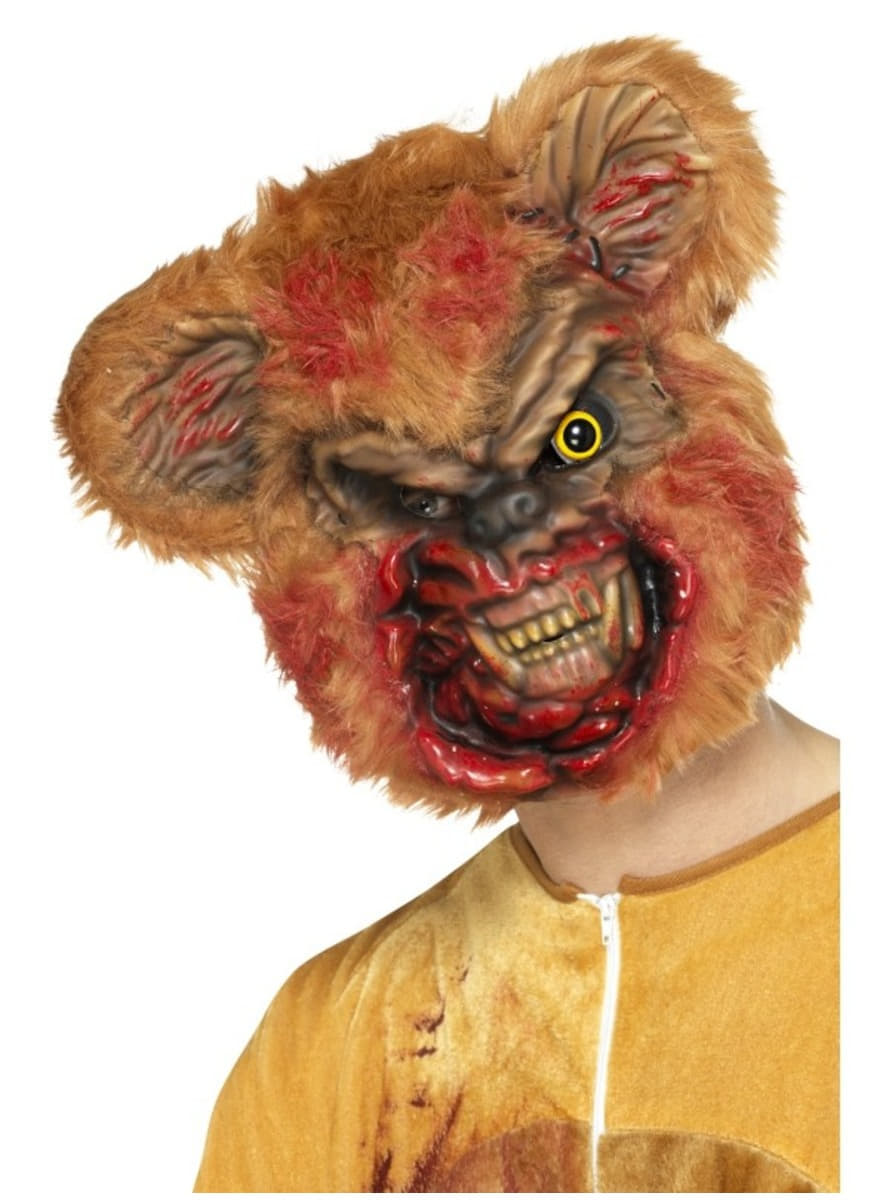 Adults Zombie Teddy Bear Mask Express Delivery Funidelia