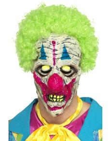Máscara de payaso asesino ultravioleta
