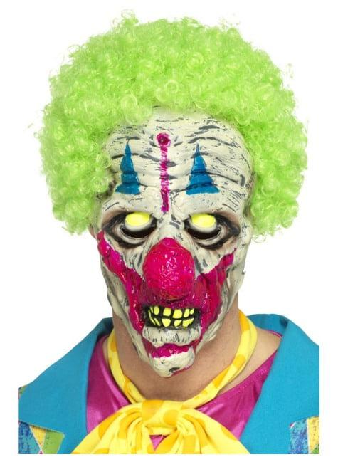 Mask mördarclown ultraviolett