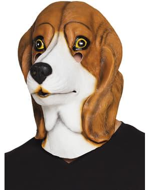 Beagle masker voor volwassenen