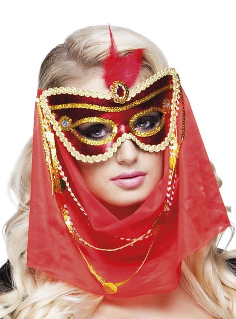 Antifaz de árabe seductora para mujer