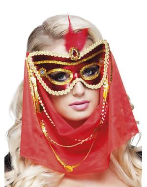 Arabská očná maska pre ženy