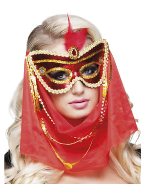 Maschera da arabo per donna