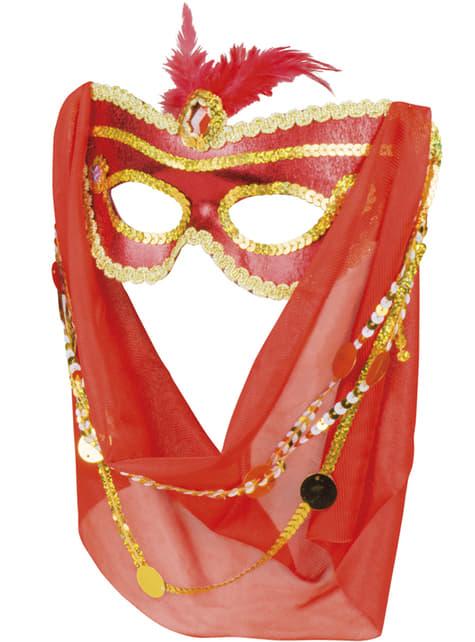 Antifaz de árabe seductora para mujer - para tu disfraz