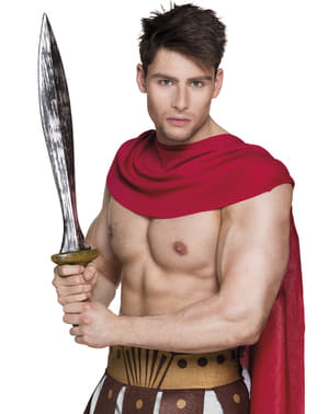 Espada de guerreiro espartano